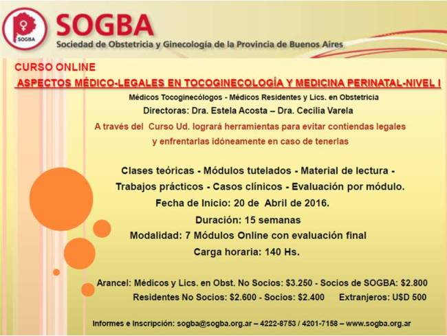 Sogba Legales 2016